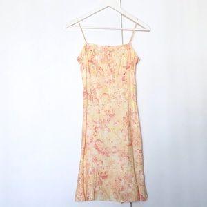 Ann Taylor floral linen sundress